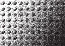 Fond pointillé par hémisphère abstrait illustration stock