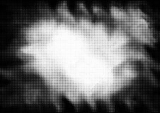 Fond pointillé par image tramée dans le style d'art de bruit illustration libre de droits