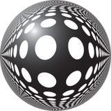 Fond pointill? par abstrait illustration de vecteur