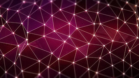Fond polygonal Images libres de droits
