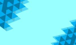 Fond polygonal image libre de droits