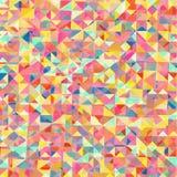 Fond polygonal Image stock