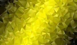 Fond polygonal abstrait Photos stock