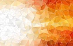 Fond polygonal abstrait Photo libre de droits