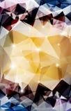 Fond polygonal abstrait de vecteur Photo libre de droits