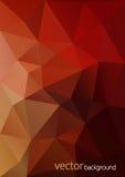 Fond polygonal abstrait de vecteur Photo stock