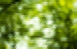 Fond polygonal abstrait Fond de triangles Image stock