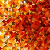 Fond polygonal d'automne Photo stock