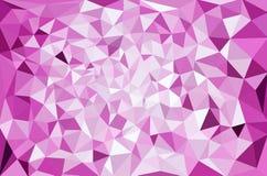 Fond polygonal de mosaïque Images stock