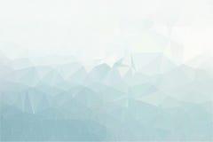 Fond polygonal en pastel de mosaïque, illustration Images stock