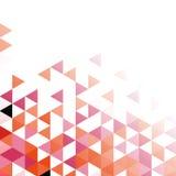 Fond polygonal géométrique abstrait de vecteur de mosaïque Photos stock