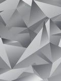 Fond polygonal géométrique de Gray Abstract Illustration de Vecteur