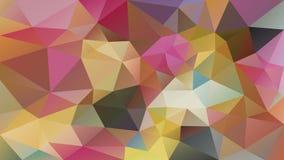 Fond polygonal irrégulier de vecteur - bas poly modèle de triangle - plein en pastel de spectre de couleur multi coloré varié illustration libre de droits