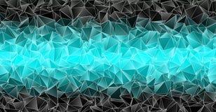 Fond polygonal Texture triangulée de résumé Photographie stock