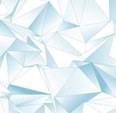 Fond polygonal Texture triangulée de résumé Photographie stock libre de droits