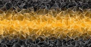 Fond polygonal Texture triangulée de résumé Image stock