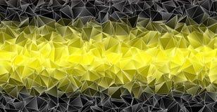 Fond polygonal Texture triangulée de résumé Photo stock