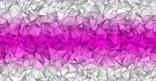 Fond polygonal Texture triangulée de résumé Images stock