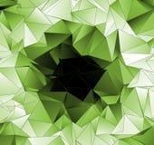 Fond polygonal Texture triangulée de résumé Photo libre de droits