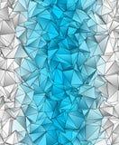 Fond polygonal Texture triangulée de résumé Photos stock