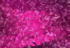 Fond polygonal triangulé de résumé Photos stock