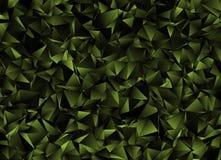 Fond polygonal triangulé de résumé Images libres de droits