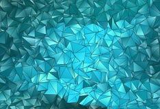 Fond polygonal triangulé de résumé Image stock