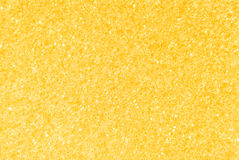 Fond poreux d'or jaune de texture Images libres de droits