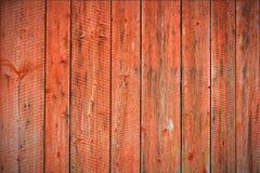 Fond porté rouge de planches Images libres de droits