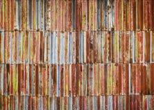 Fond porté rouillé de texture en métal image stock