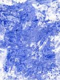 Fond pour aquarelle bleu Images libres de droits