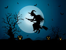 Fond pour des célébrations de Halloween Images libres de droits