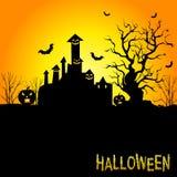 Fond pour des célébrations de Halloween Photographie stock libre de droits