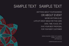 Fond pour l'affiche d'événement, chèque-cadeaux, carte d'invitation, cadre d'annonce et pour un bon nombre de vos grandes idées V Photos stock