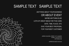 Fond pour l'affiche d'événement, chèque-cadeaux, carte d'invitation, cadre d'annonce et pour un bon nombre de vos grandes idées V Photo stock