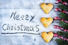 Fond pour la carte de voeux de Noël Image libre de droits