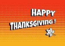 Fond pour le jour de thanksgiving, Canada Vecteur illustration stock