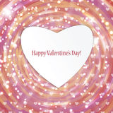 Fond pour le jour de valentine Photographie stock