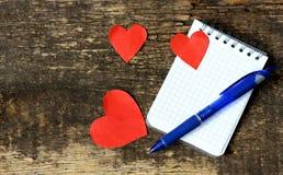 Fond pour le jour du ` s de Valentine Photo libre de droits