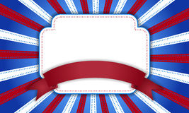 Fond pour le 4 juillet Image stock