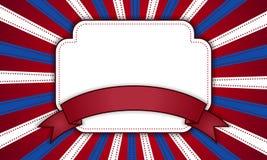 Fond pour le 4 juillet Image libre de droits