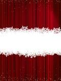 Fond pourpré abstrait de Noël d'éclat. ENV 8 Images stock