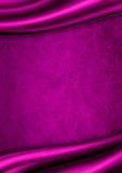 Fond pourpré de tissu de satin Image libre de droits