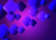 Fond pourpre abstrait avec des formes géométriques illustration libre de droits