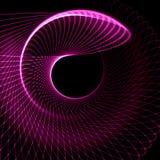 Fond pourpre abstrait d'éclipse illustration de vecteur
