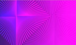 Fond pourpre abstrait de gradient avec le losange illustration stock