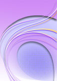 Fond pourpre avec les bandes incurvées par coloredovalelilasd'andde couleur Photo stock