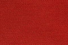 Fond précis de tissu dans la couleur rouge fantastique photographie stock