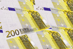 Fond produit d'euro notes Image libre de droits