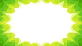 Fond promotionnel instantané de starburst de vente de ressort en vert illustration stock